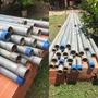Tubo Galvanizado Iso 1 1/2 Y 2 Pulgadas De 6.40 Mts