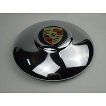 Calota Cromada Porsche Roda 5 Furos Fusca Kombi K-ghia Vw