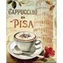 Placa Decorativa P/ Cozinha Restaurante Cafeteria Lanchonete