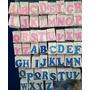 Letras De Isopor Rosa E Azul Decoração Festas Alta Qualidad