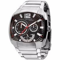 Relógio Technos Esportivo De Aço Masculino Prata 6p29ahh/1p