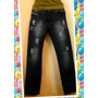 Pantalón Jeans Azul Damas Marca Buchop