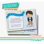 Estampita Comunión - Invitación Comunión Nene Para Imprimir