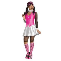 Deseos Secretos Monster High Draculaura Deluxe Adult Costume