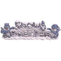 Decoración Encore Grupo Snow Buddies Muñeco De Nieve Muñeco