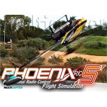 Simulador Voo Phoenix Rc 5.0 Completo - Frete Grátis
