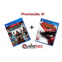 Jogo Ps4 Assassins Creed Syndicate + God Of War Remasterizad