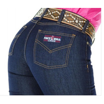 Calça Jeans Country Fast Bull Feminina Azul