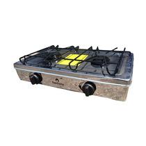 Estufa De Mesa Con Manguera Y Regulador Acero Envío Gratis