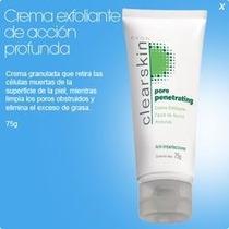 Crema Exfoliante Facial De Acción Profunda Clearskin Avon