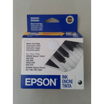 Cartucho Epson Stylus Original Color Negro S020187/s020093