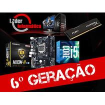 Kit Placa Mãe 6ºgeração + Processador I5 6400+ Memoria 8gb