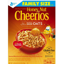 Honey Nut Cheerios Gluten Free Cereal 21.6 Oz