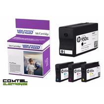 Cartucho Hp 950 / 951 Xl Venspeed Compatible Negro Y Color