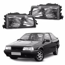Lente Farol Fiat Tempra 1996 1997 1998 Vidro #2021