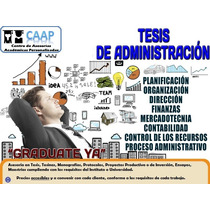Tesis De Administración Asesorías