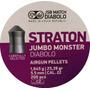 Balines Jsb Jumbo Monster 5,5mm 1.645g 25.39gr X 200