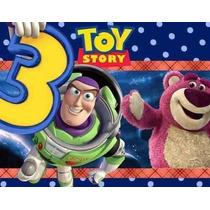 Kit Imprimible Toy Story 3 Diseñá Tarjetas , Cumples Y Mas