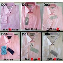 Camisa Social Dudalina Masculina Original Com Nf Promoção 1