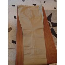 Pantalones De Vestir Color Kaki Tallas Grandes 40 42 44