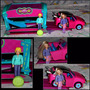 Bella Polly Pocket Quik Clik Carro