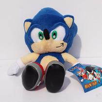 2 Bonecos Pelúcia Sonic E Tails