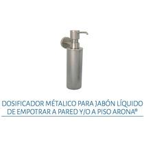 Dosificador Metálico Jabón Líquid Pared/piso Urreaar.18 Crom