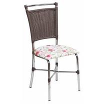 Cadeira Banqueta Tubular Primavera Kit 02un-fibra Sintética