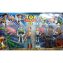 Set De 10 Muñecos De Toy Story Woody Buzz - Super Completo