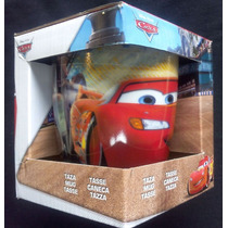 Taza De Vidrio De Colección Carrito Cars Disney - Pixar