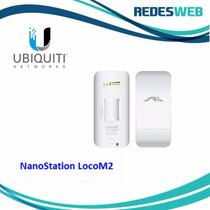 Antena Ubiquiti Nanostation Loco M2: 2.4 Ghz - 8dbi