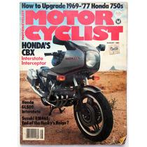 Motor Cycle Agosto 1981 Revista Motociclismo Honda Colec2