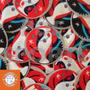 Parches Eurocopa 2016, Portugal, Francia, Alemania, España