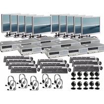 10 Computadoras Ht Dual Core 3.0ghz 2gb Hd 80gb Dvd Lcd 17