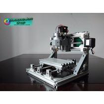 Mini Máquina Cnc, Área De Trabajo 24x18x4.5 Cm Madera Vinil