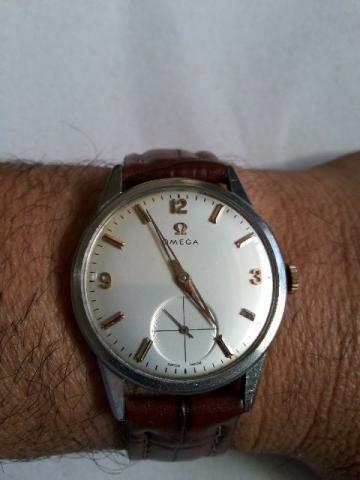 b6e2a9fa3ef Relógio Omega Ferradura Antigo Original - R  3.800