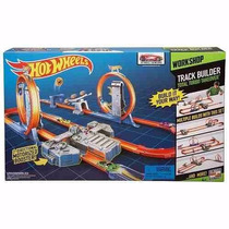 Pista Hot Wheels Track Builder Total Turbo Takeover