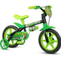 Bicicleta Infantil Nathor Aro 12 Ver-pt Black Masculino