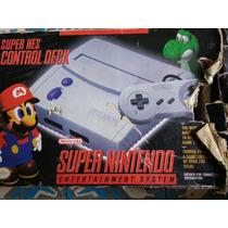 Mini Super Nintendo Snes Control Deck En Caja