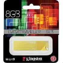 Pen Drive 8gb Kingston 2.0 Amarillo Original Sellado Blister