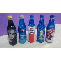 Lote 5 Botellas Pepsi Edicion Especial