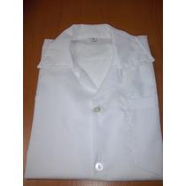 Camisas Colegiales Cuello Sport Blancas De Talla 4 A La 14