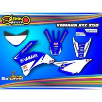 Kit Calcos Xtz 250 Deportivas Laminado 3m Grueso Brillante