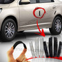 Kit Protetor Porta Resinado Fiat Uno Mille Sx Young