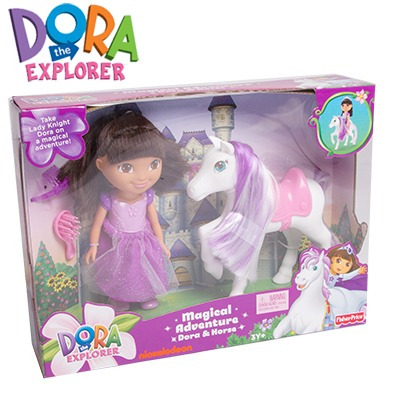 Dora la exploradora mu eca con caballo fisher price mnd - Cocina dora la exploradora fisher price ...