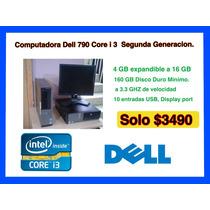 Computadora Dell 790 Corei3 Segunda Generacion.