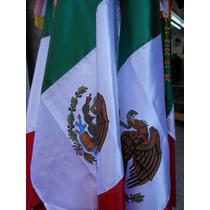 Bandera De Mexico .74 X 1,25 Mts