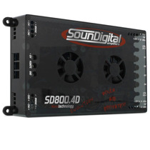 Promoção Modulo Amplificador Soundigital Sd 800 Rms 4d 4 Evo