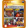 Crash Bandicoot 1 2 3 + Racing + Rayman 2 (código Ps3)