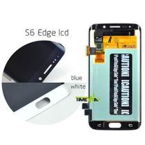 Pantalla Display+touch Samsung Galaxy S6 Edge G925 Azul-blan